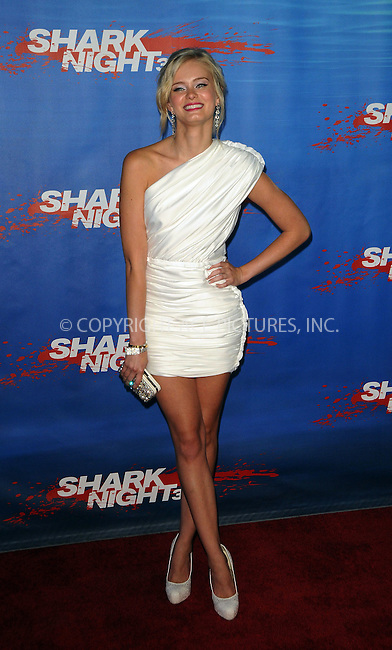 WWW.ACEPIXS.COM . . . . .  ....September 1 2011, LA....Actress Sara Paxton arriving at the screening of 'Shark Night 3D' on September 1, 2011 in Universal City, California.....Please byline: PETER WEST - ACE PICTURES.... *** ***..Ace Pictures, Inc:  ..Philip Vaughan (212) 243-8787 or (646) 679 0430..e-mail: info@acepixs.com..web: http://www.acepixs.com