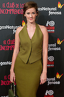 Ana Polvorosa attend the Premiere of the movie &quot;El club de los incomprendidos&quot; at callao Cinema in Madrid, Spain. December 1, 2014. (ALTERPHOTOS/Carlos Dafonte) /NortePhoto<br />