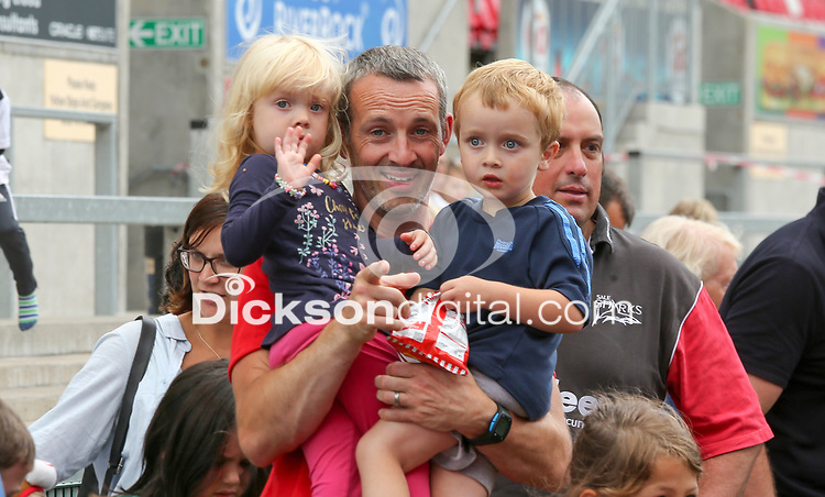 Friday 3rd August 2018 | Ulster Rugby Family Fun Day<br /> <br /> Ulster Rugby Family Fun Day at Kingspan Stadium, Ravenhill Park, Belfast, Northern Ireland.  Photo by John Dickson / DICKSONDIGITAL