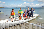Portmagee proved the stronger in the U12 mixed at the Ballinskelligs Regatta on Sunday last pictured here l-r; Fionán Hussey, Caoimhe Curran, Gavin Reardon, Lukas Paulauskas & David Hussey(Cox).