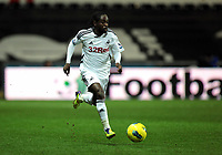 Pictured: Nathan Dyer of Swansea. Tuesday 27 December 2011<br /> Re: Premier League football Swansea City FC v Queens Park Rangers at the Liberty Stadium, south Wales.
