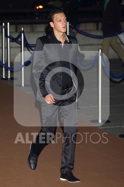 MADRID (04/11/2010).- Real Madrid Foundation held  its annual gala, Alma Awards 2010. Mesut Ozil...Photo: Cesar Cebolla / ALFAQUI