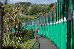 Swansea, UK, 11th May 2020.<br />A man exercises at Langland Bay near Swansea this morning as the devolved Welsh government continue to ask people in Wales to stay at home due to the Coronavirus pandemic.