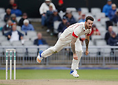 7th September 2017, Emirates Old Trafford, Manchester, England; Specsavers County Championship, Division One; Lancashire versus Essex; Jordan Clark of Lancashire bowls during the afternoon session