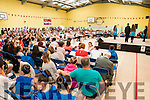 Fleadh Na Mumhan:  The crowd attending the dancing competitions held in St. Michael's College sports hall during the Fleadh Cheol na Mumhan in Listowel on Sunday last.