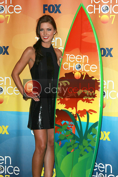 Audrina Patridge<br />in the press room of the 2007 Teen Choice Awards. Gibson Amphitheater, Universal City, CA. 08-26-07<br />Dave Edwards/DailyCeleb.com 818-249-4998
