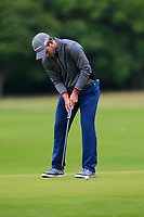 Bradley Neil (SCO) on the 10th green during Round 2 of the Bridgestone Challenge 2017 at the Luton Hoo Hotel Golf &amp; Spa, Luton, Bedfordshire, England. 08/09/2017<br /> Picture: Golffile | Thos Caffrey<br /> <br /> <br /> All photo usage must carry mandatory copyright credit     (&copy; Golffile | Thos Caffrey)