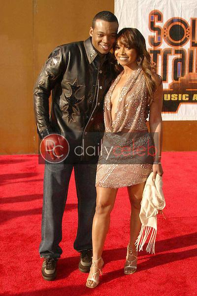 Theron 'Chico' Benymon and Tamala Jones