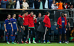 Manchester United players prepare for the celebrations during the UEFA Europa League Final match at the Friends Arena, Stockholm. Picture date: May 24th, 2017.Picture credit should read: Matt McNulty/Sportimage