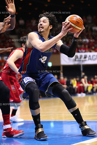 Jason Washburn (B-Corsairs), <br /> MAY 19, 2017 - Basketball : <br /> 2016-17 B.LEAGUE First Division Play-offs <br /> 2nd Round game <br /> between Toyama Grouses 79-71 Yokohama B-Corsairs <br /> at 2nd Yoyogi Gymnasium in Tokyo, Japan. <br /> (Photo by YUTAKA/AFLO SPORT)