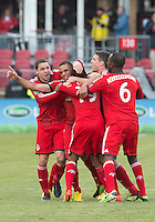 Toronto FC vs FC Dallas, April 6, 2013