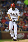 Yu Darvish (Rangers),<br /> MAY 21, 2013 - MLB :<br /> Pitcher Yu Darvish of the Texas Rangers celebrates during the Major League Baseball game against the Oakland Athletics at Rangers Ballpark in Arlington in Arlington, Texas, United States. (Photo by AFLO)