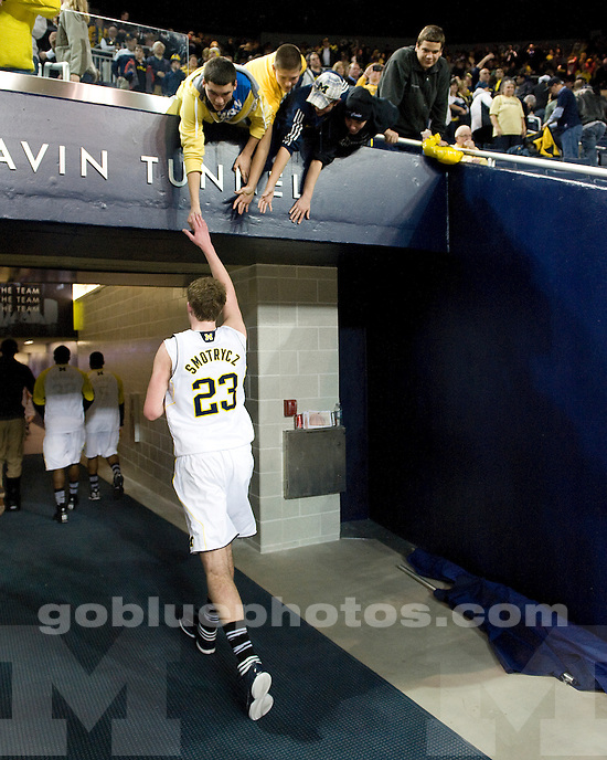 The University of Michigan men's basketball team beat Penn State 71-53 at Crisler Arena in Ann Arbor, Mich., on December 29, 2011.