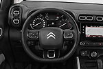 Car pictures of steering wheel view of a 2018 Citroen C3 Aircross Shine 5 Door SUV