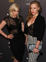 WEST HOLLYWOOD, CA, USA - OCTOBER 22: Natasha Bedingfield, Nikola Rachelle arrive at the Delta Air Lines And Virgin Atlantic Celebratration Of New Direct Route Between LAX And Heathrow Airports held at The London Hotel on October 22, 2014 in West Hollywood, California, United States. (Photo by Rudy Torres/Celebrity Monitor)