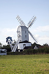 Saxted post mill windmill, Suffolk, England
