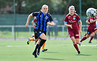 Brugge's Elle Decorte pictured during a female soccer game between Club Brugge Dames YLA and Racing Genk Ladies on the second matchday of the 2020 - 2021 season of Belgian Scooore Women s SuperLeague , saturday 5 th of September 2020  in Brugge , Belgium . PHOTO SPORTPIX.BE   SPP   DAVID CATRY