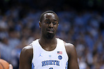 CHAPEL HILL, NC - DECEMBER 30: North Carolina's Theo Pinson. The University of North Carolina Tar Heels hosted the Wake Forest University Demon Deacons on December 30, 2017 at Dean E. Smith Center in Chapel Hill, NC in a Division I men's college basketball game. UNC won the game 73-69.