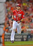 19 May 2012: Washington Nationals outfielder Rick Ankiel in action against the Baltimore Orioles at Nationals Park in Washington, DC. The Orioles defeated the Nationals 6-5 in the second game of their 3-game series. Mandatory Credit: Ed Wolfstein Photo