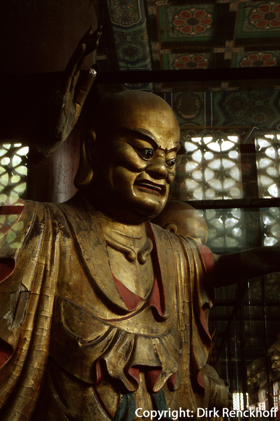 China, Peking, Bi Yun Si (Tempel), Luohan (Schüler Buddhas)
