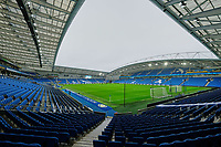 General view of the ground ahead of Brighton & Hove Albion vs Norwich City, Premier League Football at the American Express Community Stadium on 2nd November 2019