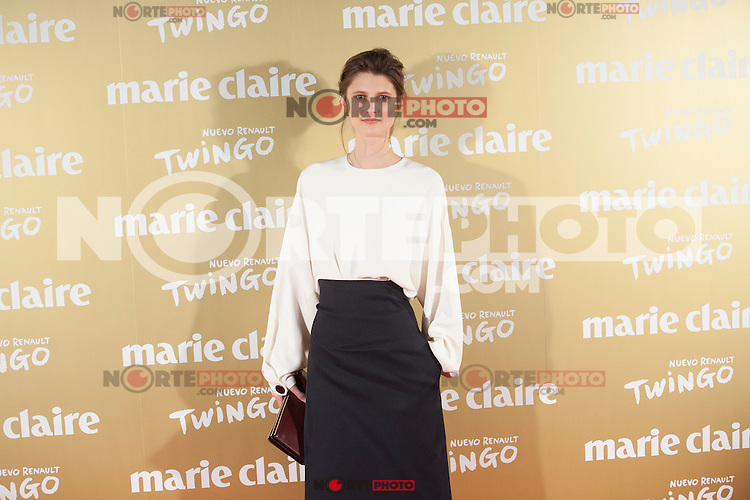 Marie Piovesan attends Marie Claire´s XII Fashion Prix ceremony in Madrid, Spain. November 19, 2014. (ALTERPHOTOS/Victor Blanco)