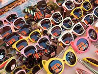 Sonnenbrillen auf dem Namdaemun Markt, Seoul, S&uuml;dkorea, Asien<br /> sun-glasses  at Namdaemun market, Seoul, South Korea, Asia