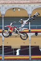 Training Red Bull X-Fighters 2012. Madrid. Rider in the picture Todd Potter USA. July 19, 2012. (ALTERPHOTOS/Ricky Blanco) /NortePhoto.com<br />  <br /> **CREDITO*OBLIGATORIO** *No*Venta*A*Terceros*<br /> *No*Sale*So*third* ***No*Se*Permite*Hacer Archivo***No*Sale*So*third*©Imagenes*con derechos*de*autor©todos*reservados*.