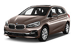 2018 BMW bmw 2activetourluxmv1fb 5 Door Mini Van angular front stock photos of front three quarter view