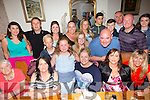 Having a gathering on Saturday night at Bella Bia's were the William's family originally from Kevin Barry's. Family have come from near and far to be at the gathering,some have travelled from USA,Scotland, Galway and Donegal