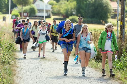 20140806 Vilda-läger på Kragenäs. Foto för Scoutshop.se