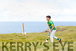 Kelton Molly from Lixnaw competing in the U16 Munster Puc Fada on the Kerryhead mountain in Ballyheigue on Saturday.