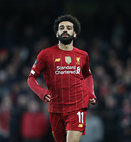 Liverpool's Mohamed Salah<br /> <br /> Photographer Rob Newell/CameraSport<br /> <br /> The Emirates FA Cup Fifth Round - Chelsea v Liverpool - Tuesday 3rd March 2020 - Stamford Bridge - London<br />  <br /> World Copyright © 2020 CameraSport. All rights reserved. 43 Linden Ave. Countesthorpe. Leicester. England. LE8 5PG - Tel: +44 (0) 116 277 4147 - admin@camerasport.com - www.camerasport.com