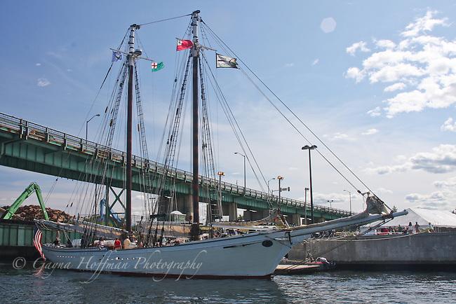 Tall sailing ship. Portsmouth, NH