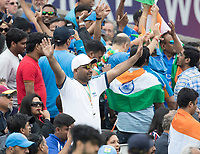 Every dot ball cheered during India vs New Zealand, ICC World Cup Semi-Final Cricket at Old Trafford on 9th July 2019