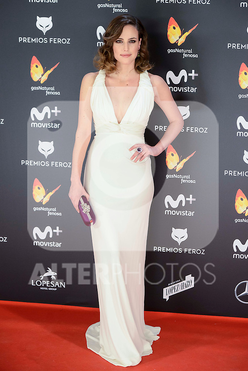 Natalia de Molina attends to the Feroz Awards 2017 in Madrid, Spain. January 23, 2017. (ALTERPHOTOS/BorjaB.Hojas)