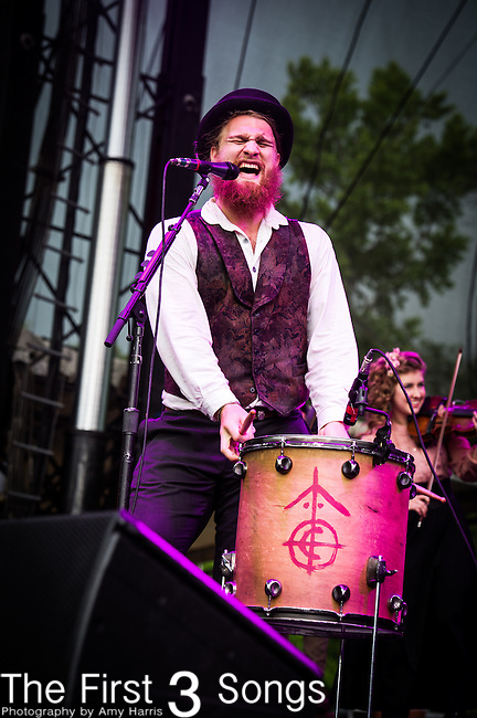 The Last Bison performs at Firefly Festival 2013 in Dover, Delaware