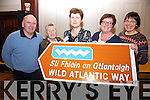 Pictured at the Wild Atlantic Way Workshop in the Ring of Kerry Hotel in Cahe4rsiveen on Tuesday were l-r; Dez Cronin(Ballinskelligs), Elisabeth Lynch(Portmagee), Mary O'Connor(Derrynane), Ann Cronin(Sneem) and Eve Letanneur(Sneem).