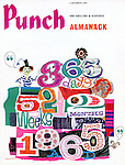 Punch Almanack (Front cover, 4 November 1964