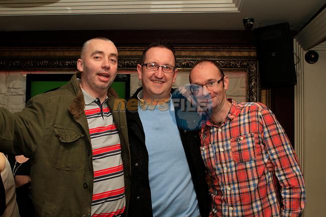 Anthony Gavin, Ken Donnelly and Al Kirwan in Barocco...Photo NEWSFILE/Jenny Matthews..(Photo credit should read Jenny Matthews/NEWSFILE)