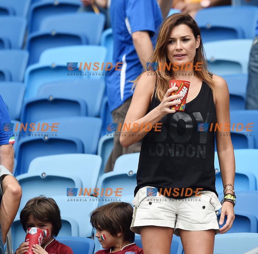 Alena Seredova, former wife of Gianluigi Buffon <br /> Natal (Brasile) 24-06-2014 Estadio Das Dunas. Group D  Italy - Uruguay / Italia - Uruguay . Football 2014 Fifa World Cup Brazil - Campionato del Mondo di Calcio  Brasile 2014 <br /> Foto Insidefoto