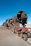 Train Cementery outside of Uyuni village, Salar de Uyuni