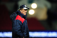 Bristol Rugby Forwards Coach Mark Bakewell looks on during the pre-match warm-up. European Rugby Challenge Cup match, between Bristol Rugby and Bath Rugby on January 13, 2017 at Ashton Gate Stadium in Bristol, England. Photo by: Patrick Khachfe / Onside Images