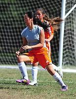 Orange Pride's first game Saturday Sept. 13 2014.( Photo by Alan Greth)