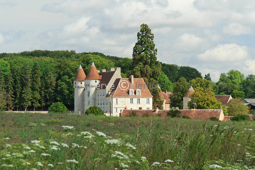 France, Indre (36), Villegouin, château du Mée // France, Indre, Villegouin, castle of Mee