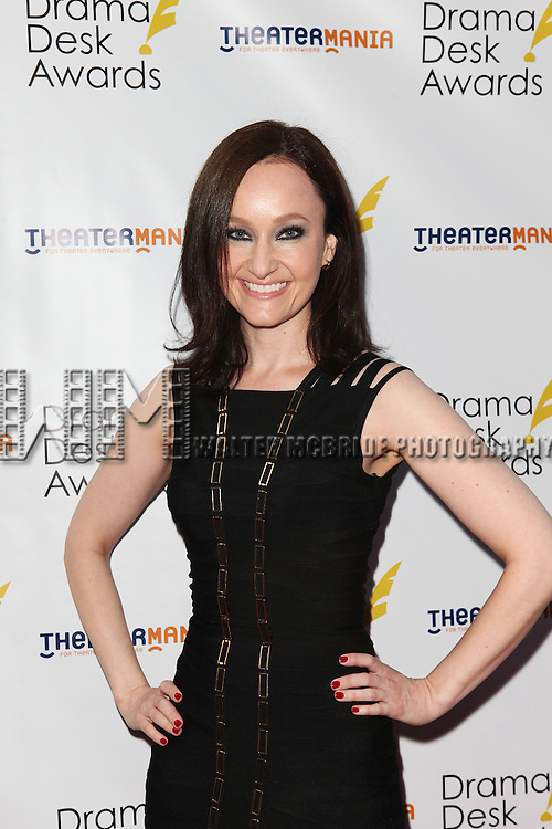 Melissa van der Schyff pictured at the 57th Annual Drama Desk Awards held at the The Town Hall in New York City, NY on June 3, 2012. © Walter McBride