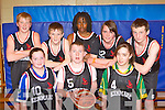 Templenoe team who competed in the basketball at the KDYS County Games day in Killarney on Sunday front row l-r: Aine Moriarty, Cathal Granville, Alice O'Reilly. Back row: Pat Spillane, Ciara Crowley, Moosa Mathrbela, Emma Rice and Stephen O'Sullivan