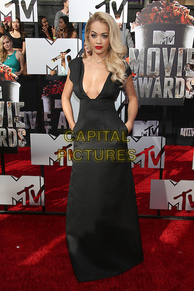 LOS ANGELES, CA - APRIL 13: Rita Ora at the 2014 MTV Movie Awards at Nokia Theatre L.A. Live on April 13, 2014 in Los Angeles, California. <br /> CAP/MPI/JO<br /> &copy;Janice Ogata/MPI/Capital Pictures