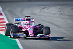 BWT Racing Point F1 Team, Sergio Perez, takes part in the tests for the new Formula One Grand Prix season at the Circuit de Catalunya in Montmelo, Barcelona. February 19, 2020 (ALTERPHOTOS/Javier Martínez de la Puente)
