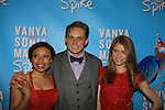 "Shalita Grant, Billy Magnussen, Genevieve Angelson .star iin Broadway's ""Vanya and Sonia and Masha and Spike"" which had its opening night on March 14, 2013 at the Golden Theatre, New York City, New York.  (Photo by Sue Coflin/Max Photos)"
